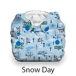 Thirsties Snap Natural Newborn Snow Day