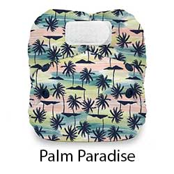 Thirsties Natural Newborn AIO HL Palm Paradise