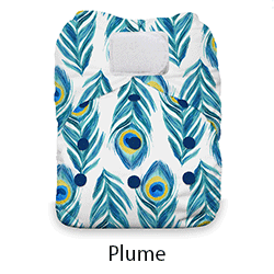 Thirsties Natural One Size AIO Plume