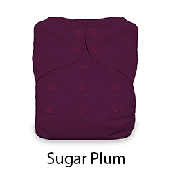 Thirsties Snap Natural One Size AIO Sugar Plum