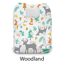 Thirsties Natural AIO One Size Woodland