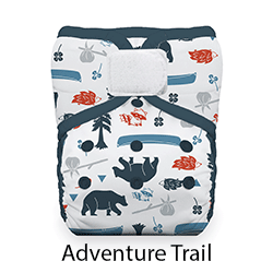 Thirsties Natural Pocket Diaper Adventure Trail
