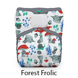 Natural Pocket Hook and Loop Forest Frolic