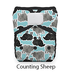 Thirsties Pocket Diaper HL Counting Sheep