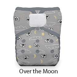 Thirsties Pocket Diaper HL Over the Moon