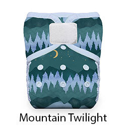 Natural Pocket Hook and Loop Mountain Twilight