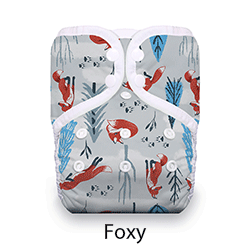 Thirsties Pocket Diaper Snaps Foxy
