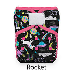 Thirsties Natural Pocket Hook and Loop Rocket