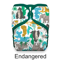 Thirsties Pocket Diaper Snap Endangered