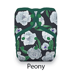 Thirsties Snap Natural One Size Pocket Diaper Peony