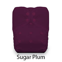 Thirsties Snap Natural One Size Pocket Diaper Sugar Plum