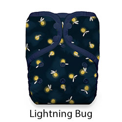 Thirsties Stay Dry Pocket Diaper Lightning Bug