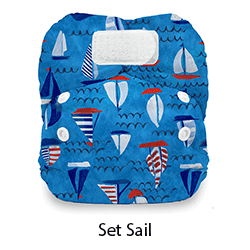 Thirsties Natural NB HL Set Sail