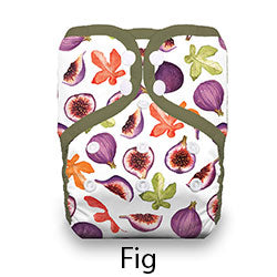 Pocket Diaper Snaps Stay Dry Fig