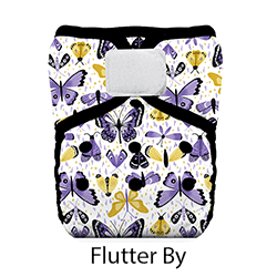 Thirsties Pocket Diaper HL Flutter By