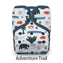 Thirsties Pocket Diaper Snap Adventure Trail