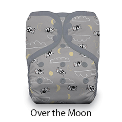 Thirsties Pocket Diaper Snap Over the Moon