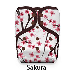 Pocket Diaper Snaps Sakura