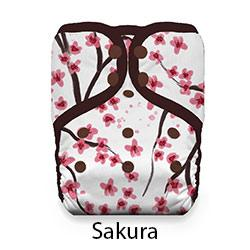 Natural Pocket Diaper Snap Sakura