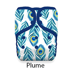 Thirsties Pocket Diaper Plume
