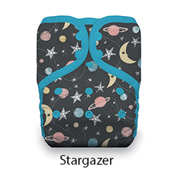 Thirsties Pocket Diaper Snap Stargazer