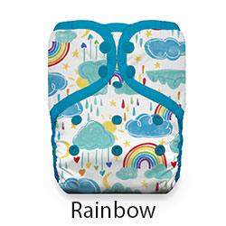 Natural Pocket Diaper Snap Rainbow