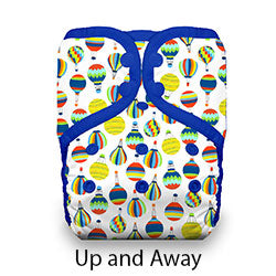 Pocket Diaper Snaps Stay Dry Up and Away