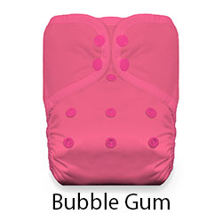 Thristies Pocket Diaper Snaps Stay Dry Bubble Gum