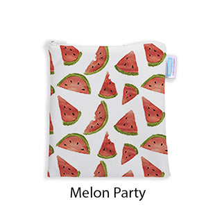 Thirsties Sandwich and Snack Bag Melon Party