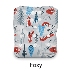 Thirsties Snap Natural One Size AIO Foxy