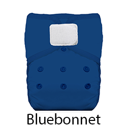 Thirsties Pocket Diaper Hook and Loop Bluebonnet