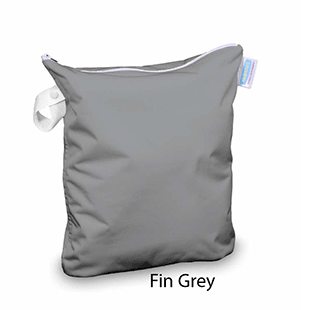 Thirsties Wet Bag Fin Grey