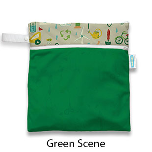 Wet Dry Bag Green Scene
