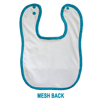 back of Thirsties bib mesh