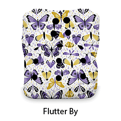 Thirsties Natural AIO Snap Flutter By