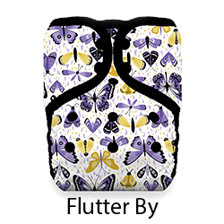 Thirsties Pocket Diaper Flutter By