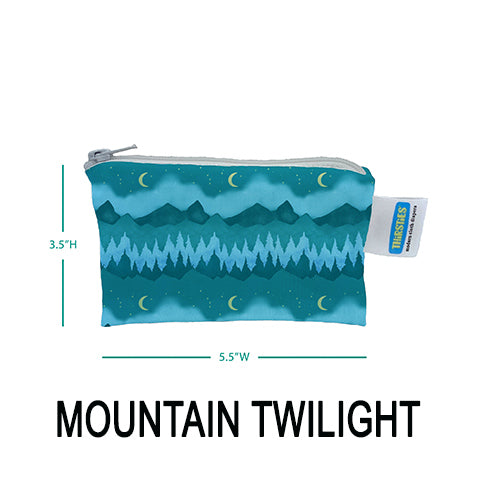 Thirsties Simple Pouch Mountain Twilight