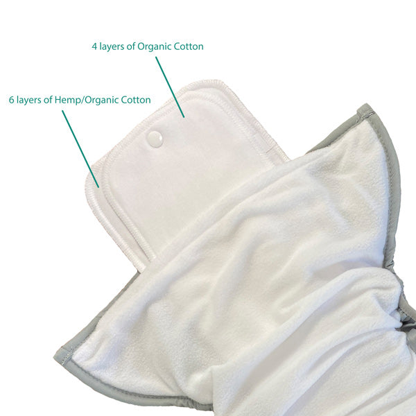 Youth pocket diaper insert image
