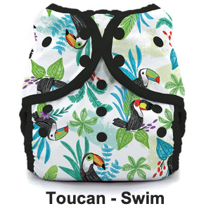 Swim Diaper Grid Toucan 300