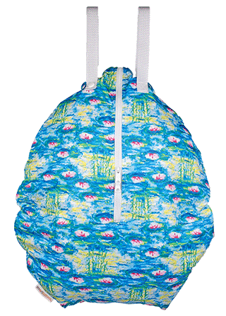 Smart Bottoms Hanging Wet Bag Water Lilies