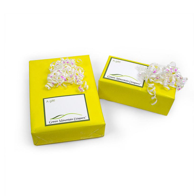 Yellow Gift Wrap Small