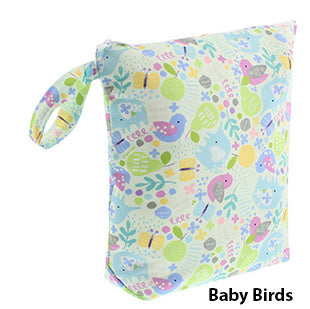 Blueberry diaper wet bag baby birds