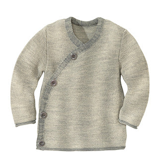 Disana wool jacket sweater grey