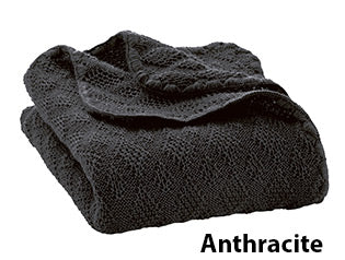 Disana knit blanket anthracite