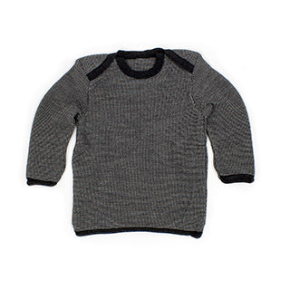 Disana melange pullover jumper sweater anthracite black