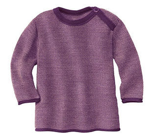 Disana Pullover Sweater Plum