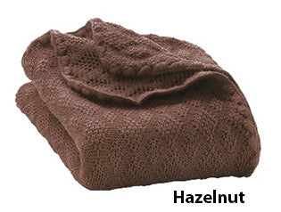 Disana knit blanket hazelnut