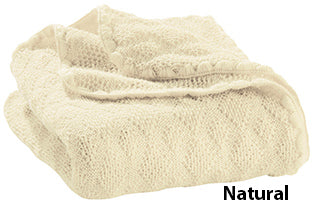 Disana knit blanket natural