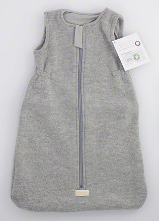 unzipped disana boiled wool sleeping bag baby grey