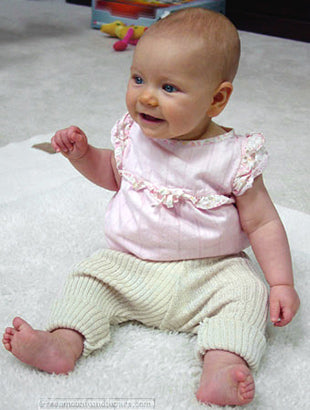 Disana leggins on 6 month old baby